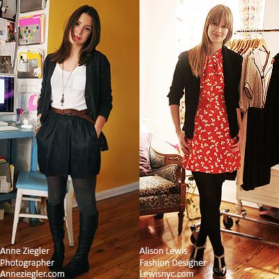 Anne Ziegler - Photographer and Alison Lewis - Fashion Designer
