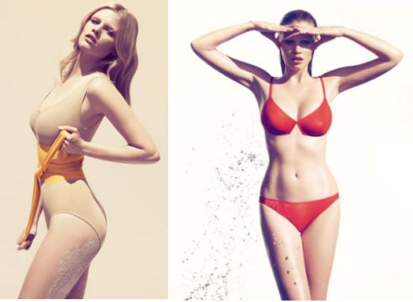 Lara Stone - Eres Swimwear 2010